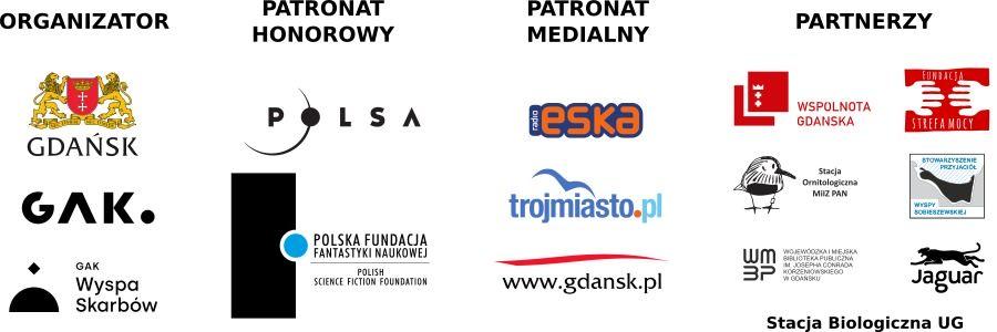 logotypy partnerów, patronów i organizatorów